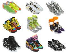 Adidas Originals by Jeremy Scott - footwear collection fall|winter 2012