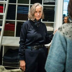 My fashion muse in Paris. Linda V Wright