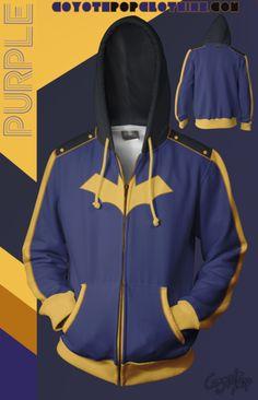 Purple Hoodie! Zip Hoodie, Athletic, Hoodies, Purple, Jackets, Collection, Fashion, Down Jackets, Moda