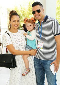 JESSICA ALBA AND CASH WARREN had a day of family fun at the Hammer Museum's fifth annual K.A.M.P. (Kids' Art Museum Project) event in Los Angeles, an exciting and interactive event imagined by artists to help cultivate the next generation of art lovers and patrons by providing extraordinary access and experiences for kids and their families.