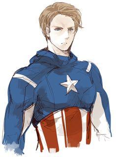 Captain America by nairchan.deviantart.com on @deviantART