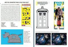 Dr. Who Party games