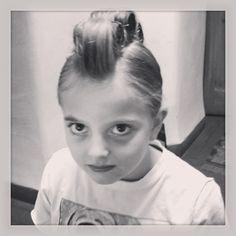 Crazy Hair Day a la Teres Kids....it's a faux-mo! ~ tereskids.com