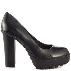 Lauletta - Black Leather by Aldo