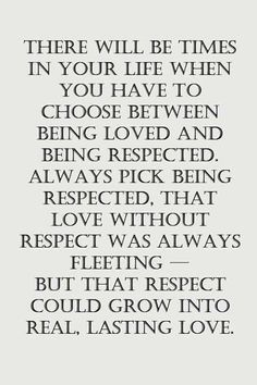 Love and Respect. ♠️