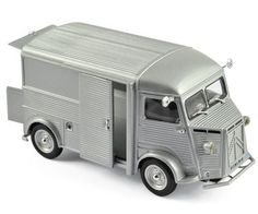 Citroеn HY 1962 Silver - Street cars - Car models - Die-cast | Hobbyland Scale model car made of metal /Die-cast/ in 1:43 scale manufactured by Norev.  It is just a small version of a real car suitable for collectors.  Handmade.  Composition: metal and plastic