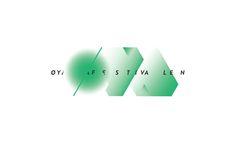 Øyafestivalen Identity by Esther Li, via Behance Identity Design, Brand Identity, Branding, Book Design, Behance, Graphic Design, Logos, Typo, Advertising