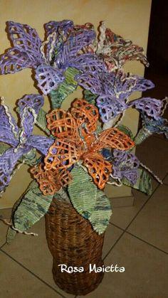 Oltre 1000 idee su fiori di carta di giornale su pinterest for Fiori di carta di giornale