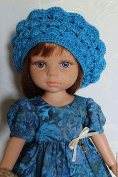 Одежда для кукол ручной работы. Платье для куклы Paola Reina. Кошка-брошка. Интернет-магазин Ярмарка Мастеров. Паола рейна