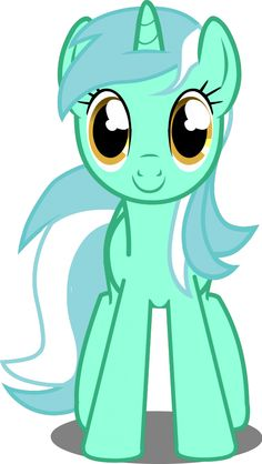 MLP - (Flash Lyra Heartstrings) Front View Layer