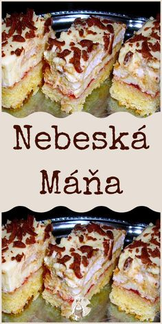 Nebeská Máňa Baking Recipes, Dessert Recipes, Czech Recipes, Halloween Cookies, Sweet Recipes, Ale, French Toast, Sandwiches, Deserts