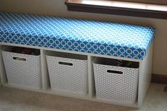 Bench cushion--mud room bench