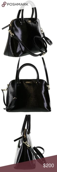 FLASH SALE•Kate Spade• Bixby Place Small Rachelle Brand new bag! Adorable patent leather bag. Such a popular style that sells out! Fore arm strap and long shoulder strap. kate spade Bags