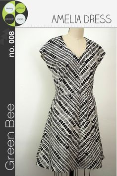 Green Bee Patterns - Amelia Dress