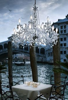 An Amazing Outdoor Chandelier Ip65 Rated So Designed To Be Outside As Shown By