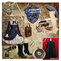 Designer Clothes, Shoes & Bags for Women Harry Potter Pin, Harry Potter Outfits, Ron Y Hermione, Hogwarts Uniform, Steampunk Couture, Themed Outfits, Cosplay, Princesas Disney, Ravenclaw