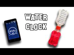 How To Make Water Clock | Cool Science Experiment - YouTube