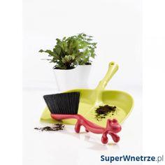Pelle et balayette en plastique vert / rouge DUSTIN Washing Up Bowls, Dustpans And Brushes, Slide Images, Gadgets, Kartell, Red Candy, Kitchen Collection, Cute Designs, Decoration