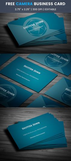 Catchy stylish bakery business card template full preview shutter down photography business card template click reheart