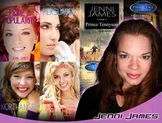 Welcome @Jenni_James to #SLComicCon! She is a writer best known for Jane Austen Diaries. (Profile: http://saltlakecomiccon.com/portfolio/jenni-james)