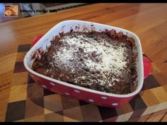 Microwave Chocolate Self Saucing Pudding Video Tutorial