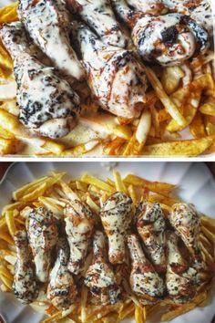 Pork, Chicken, Meat, Recipes, Stencil, Blog, Kale Stir Fry, Pigs, Stenciled Table