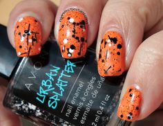 Manifest Destany: Avon Urban Splatter swatches+review