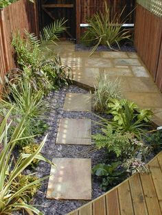 Small Gardens - Landscape Garden Design and Build London Small Garden Landscape, Small Yard Landscaping, Landscape Design, Garden Spaces, Landscape Architecture, Landscaping Ideas, Urban Garden Design, Small Garden Design, Small English Garden