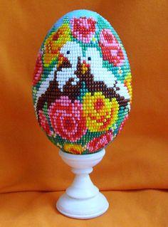 Beautiful beaded Easter Eggs | Beads Magic