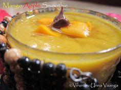 Mango & Apple smoothie
