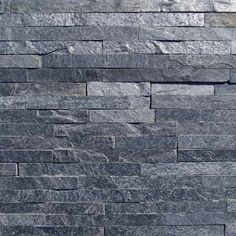 New Silver Grey Split Face Mosaic Tile in a contemporary 6 row design is minimal, sleek and even more..metallic!