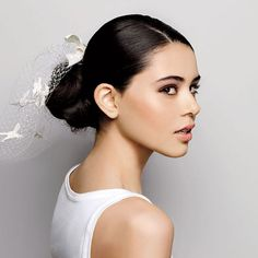 DownDo for round, UpDo for oval. Get @Brides' downlow on which hairstyles suit your face.