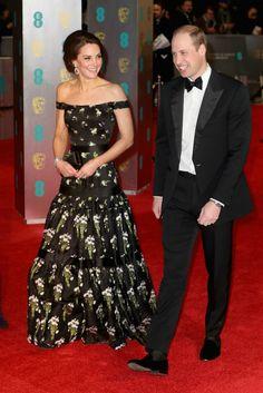 Duques de Cambridge (Alexander McQueen) #BAFTA2017