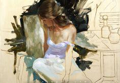 Vladimir Volegov Detail of new work in progress. Oil on canvas. Create Words, Figure Painting, Painting Art, Figurative Art, Oil On Canvas, Scenery, Gallery, Artist, Paintings