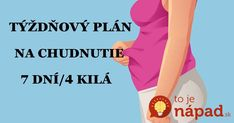 Chcem sa vami podeliť o jeden skvelý stravovací plán, ktorý sa ku mne dostal už dávnejšie, ale skúsila som ho až pred pár mesiacmi, keď som potrebovala zhodiť tehotenské kilá. Moje kamarátky s tým chudli jedna radosť a tak som sa odhodlala aj ja. Zatiaľ úspešne. Za dva týždne mám dole už 5 kíl a... Health Fitness, Food And Drink, Exercise, How To Plan, Low Carb, Sport, Ejercicio, Deporte, Sports