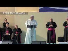 El Papa improvisa una oración en la que pide trabajo para los desemepleados