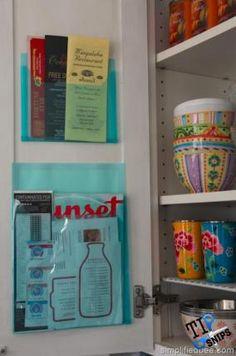 Menu And Recipe Storage