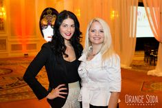 WIPA Las Vegas President and Luxury Wedding Planner Andrea Eppolito with guest speaker Wendy Dahl.