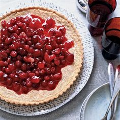 Brown Butter-Cranberry Tart | Food & Wine Recipe