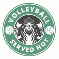 Serving It Up Hot Volleyball