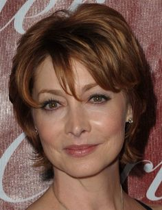 Short+Layered+Hairstyles+For+Round+Faces | Sharon Lawrence short layered hairstyles | Short Hairstyles