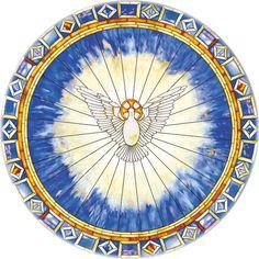 Holy Spirit as Ascending Dove
