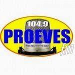 Rádio Proeves 104.9 FM Cidade: Itabuna - Bahia (BA) - Brasil Gênero: Evangélica, gospel, ritmos variados Site: http://portalproeves.com.br/