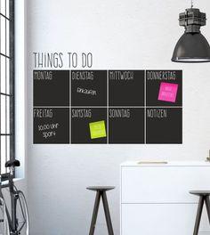 Wandtattoo - To Do Planer als Wandtattoo - ein Designerstück von wandtattoo-home bei DaWanda