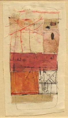 Hannelore Baron, Untitled (C73 002) 1973 Mixed Media Collage, via: http://www.artnet.com