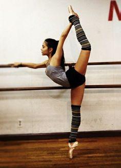 flexibility inspiration....and legwarmers!!