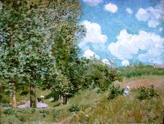 Road from Versailles to Saint Germain, 1875 by Alfred Sisley