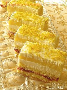 Dessert Cake Recipes, No Cook Desserts, Pie Dessert, Sweets Recipes, Baby Food Recipes, Cookie Recipes, Delicious Desserts, Yummy Food, Romanian Desserts