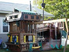 cabane de jardin pour enfant, attractions