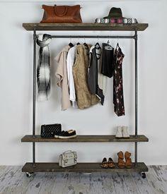 Astonishing Industrial Clothing Rack